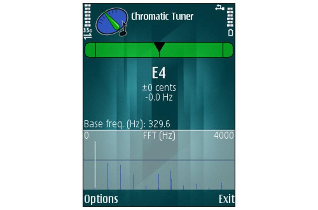 blackberry chromatic tuner