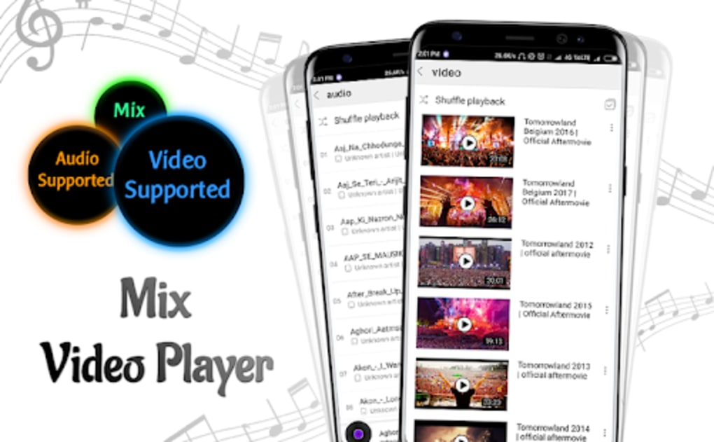 Mix Video Player  Max Player 2018