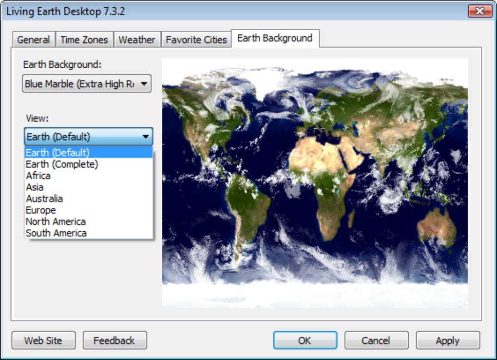 Living Earth Desktop Download