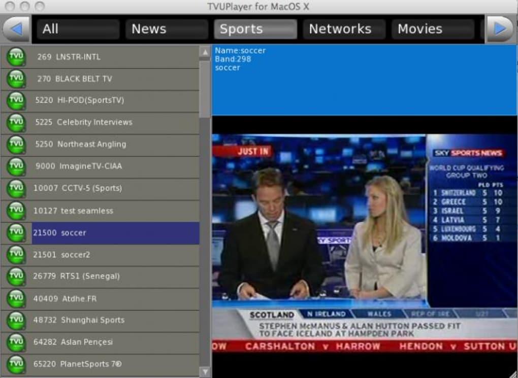 GRATUIT TÉLÉCHARGER TVUPLAYER 2012