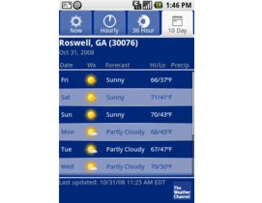 The Weather Channel für Android - Download