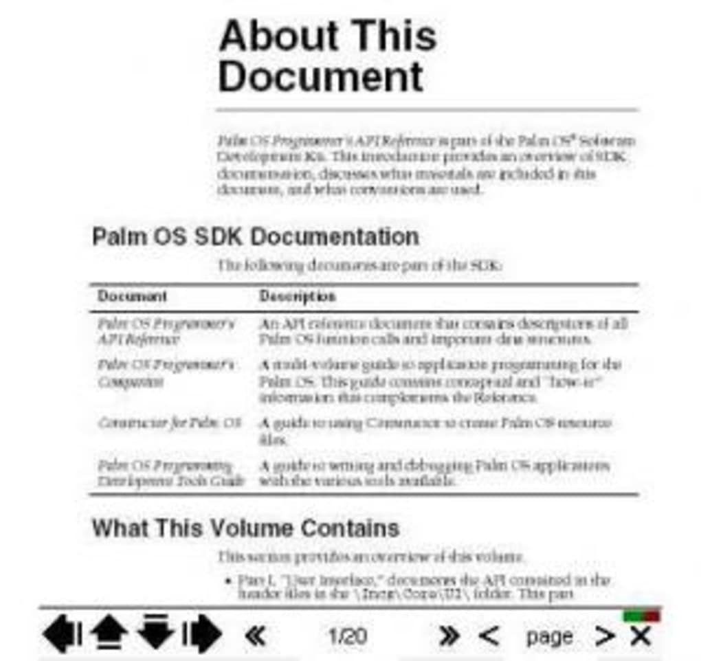 Reader palm pdf