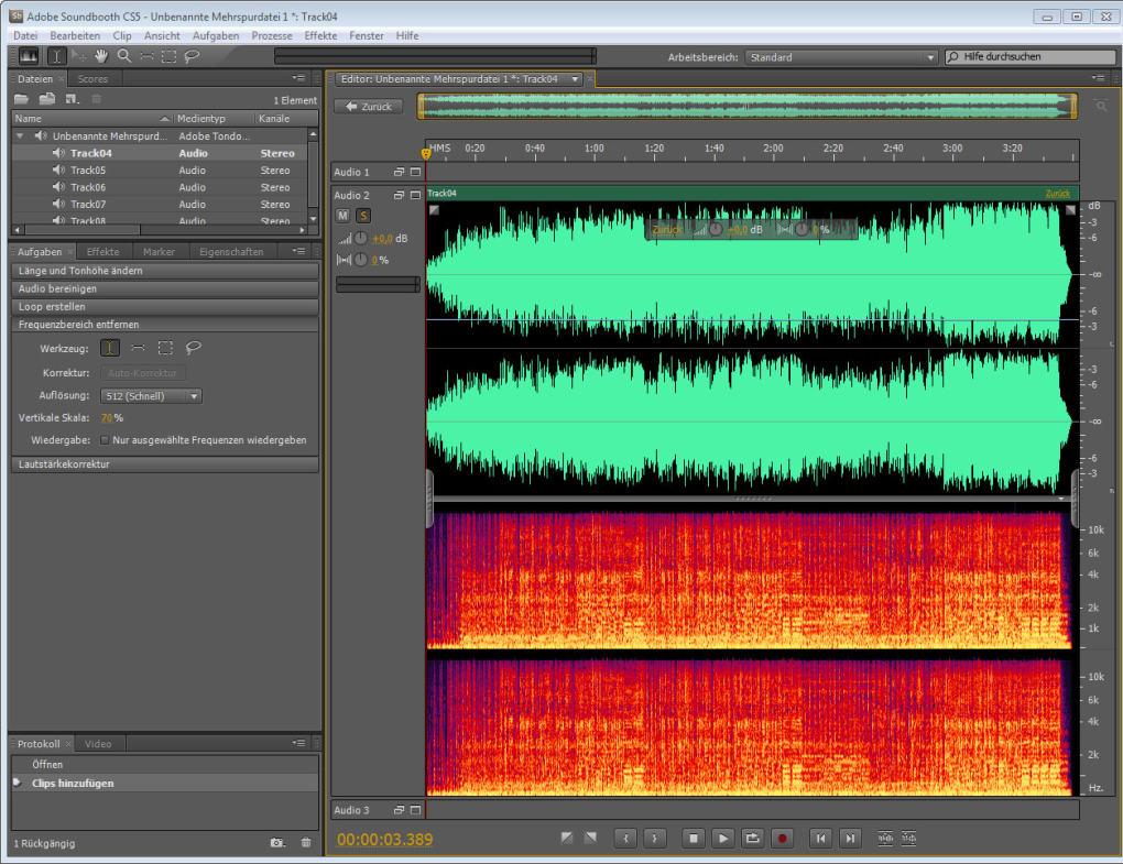 Adobe Soundbooth CS5 (free) - Download latest version in English on phpnuke