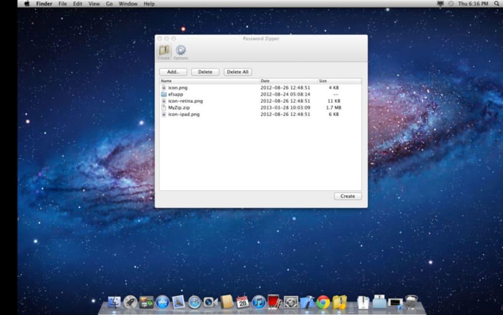 Password Zipper for Mac - Download