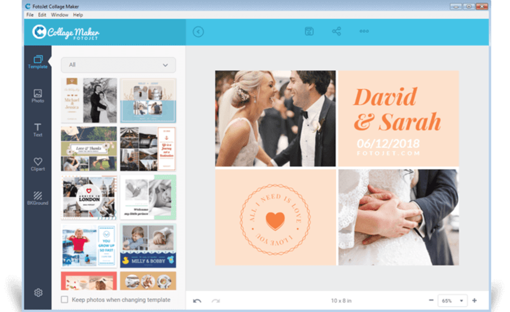FotoJet Collage Maker for PC - Download