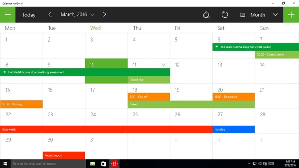 how to add google calendar to desktop application for mac