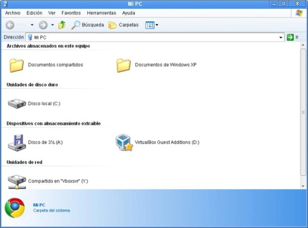google chrome pour windows xp sweet 6.2