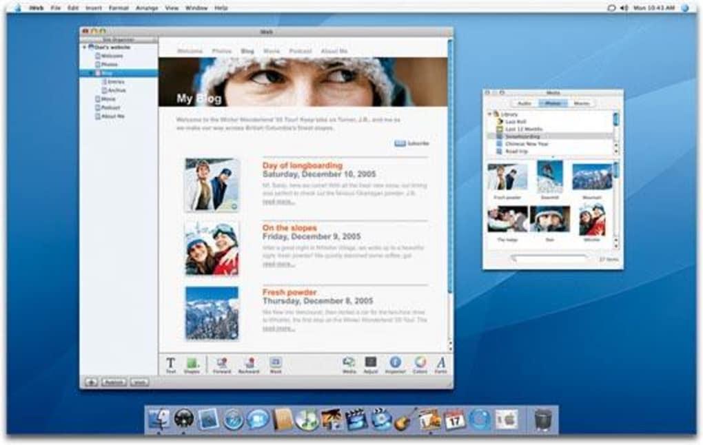 iweb apple