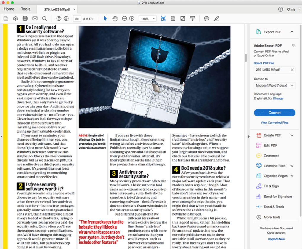Adobe Reader DC for Mac - Download