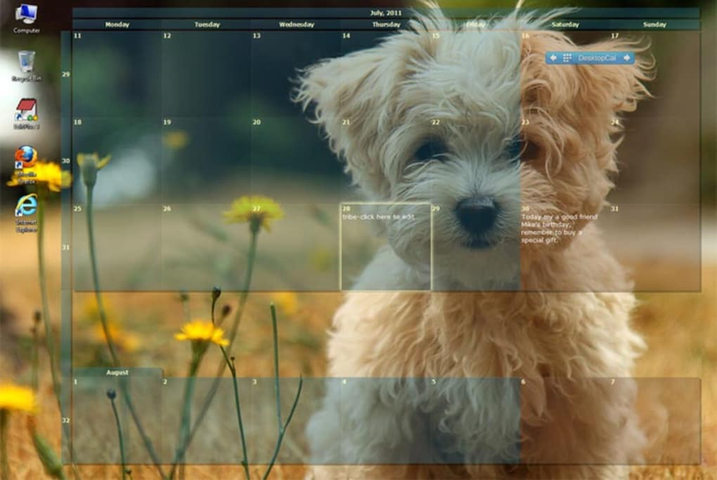 Desktop icalendar lite download.