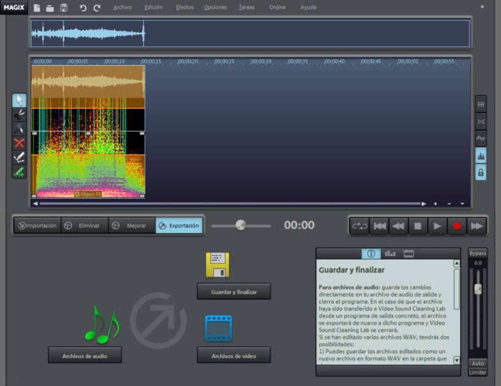 MAGIX Video Sound Cleaning Lab - Descargar