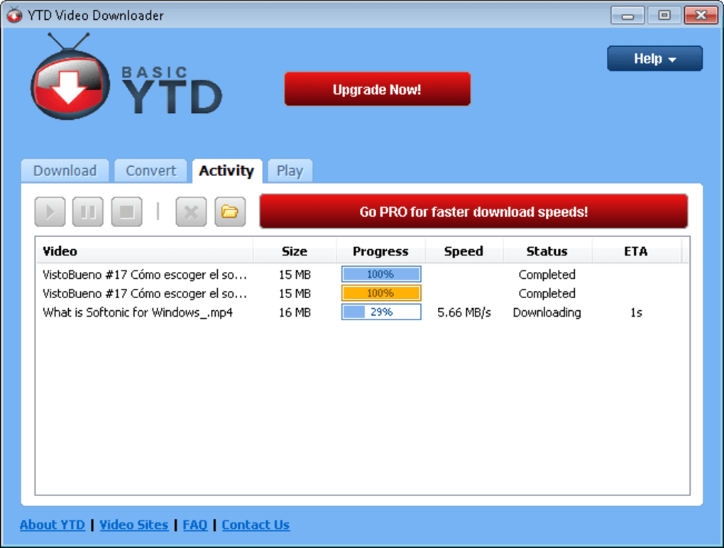 ytd video downloader gratuit 01net