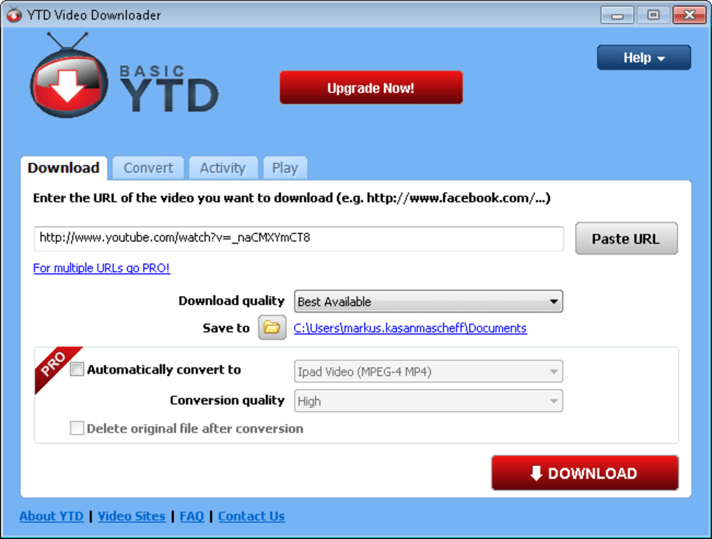 Youtube hd video downloader download high definition videos from.
