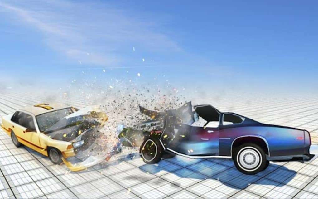 Extreme Car Crash Simulator Beam Car Engine Smash