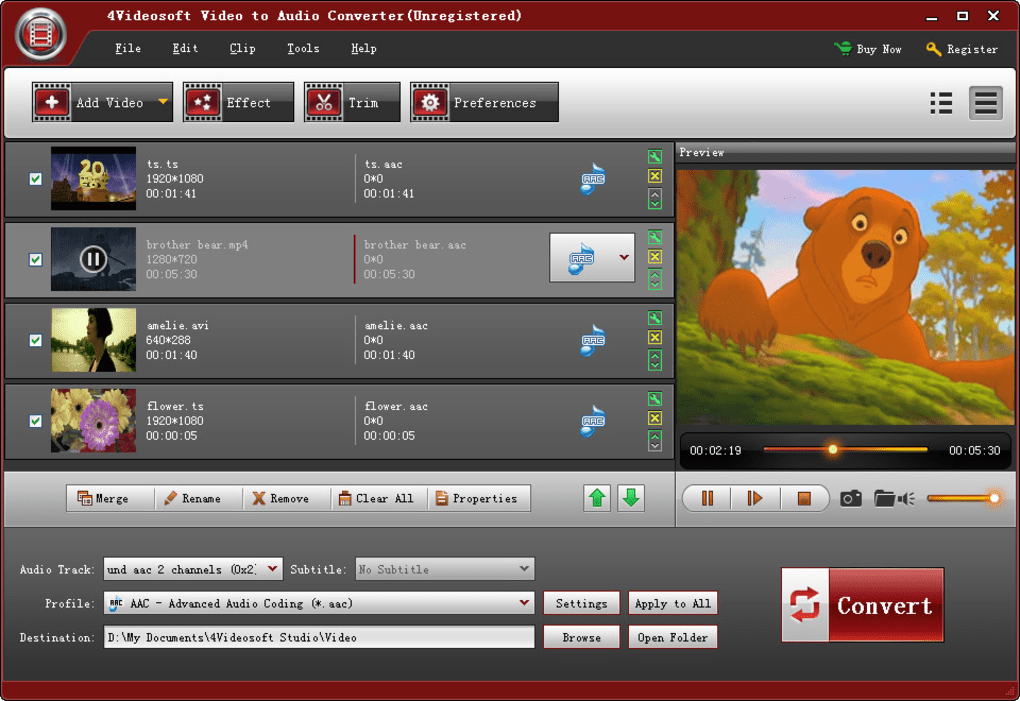 4Videosoft Video to Audio Converter - Download