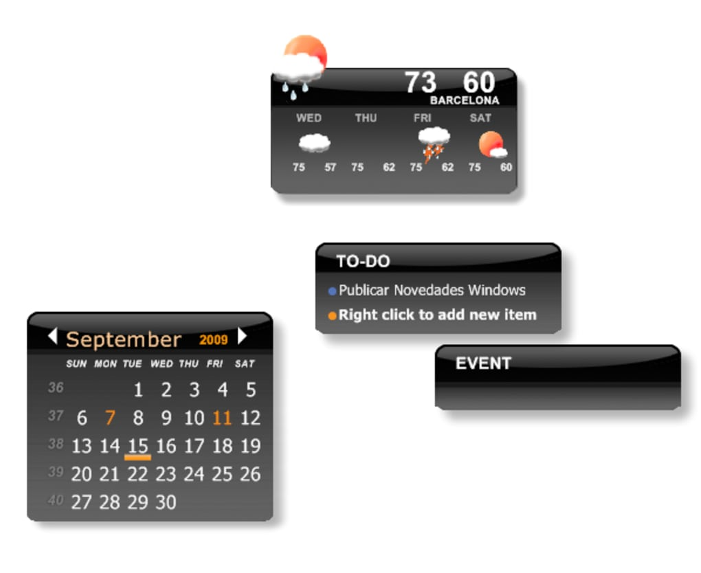 Calendario Windows 10 Su Desktop.Desktop Icalendar Lite Download