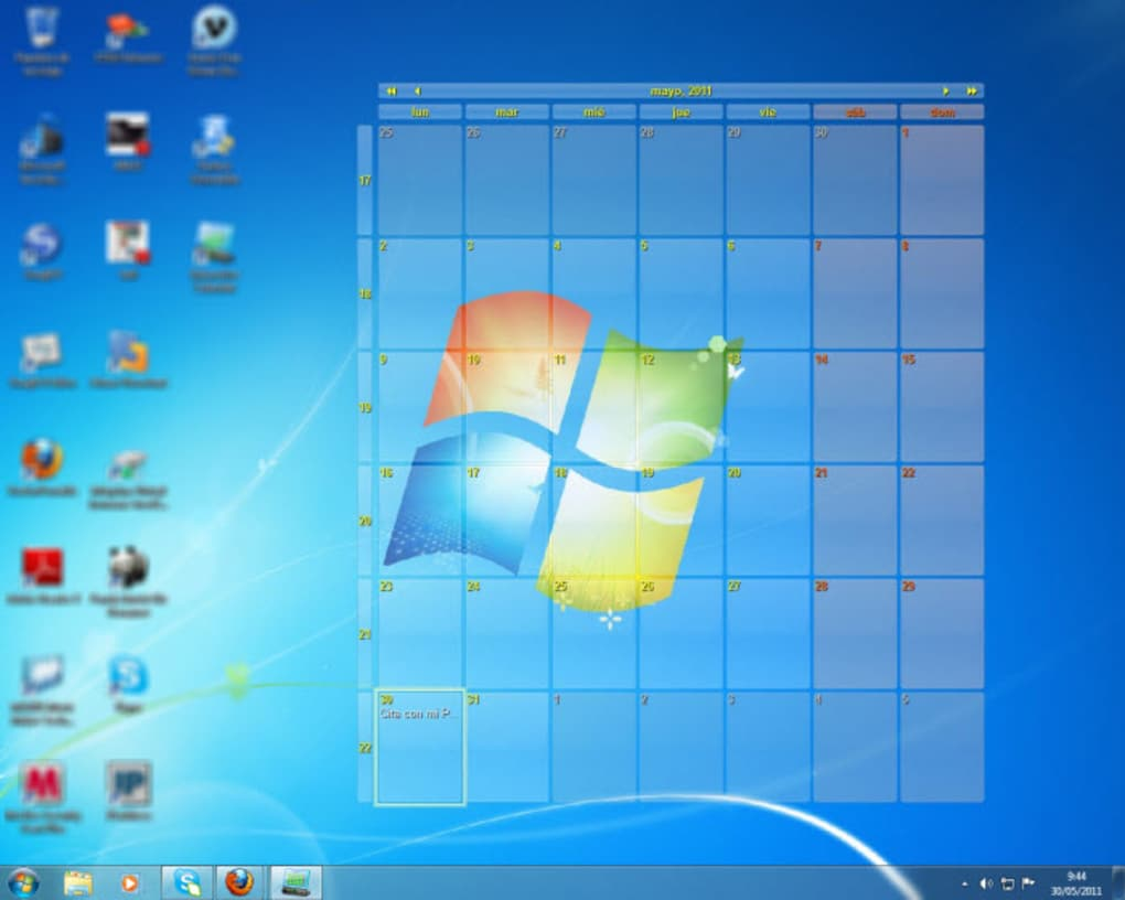 Calendario Per Pc.Interactive Calendar Descargar