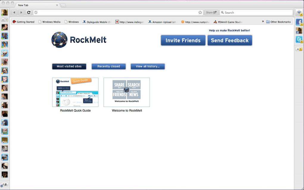 rockmelt mac