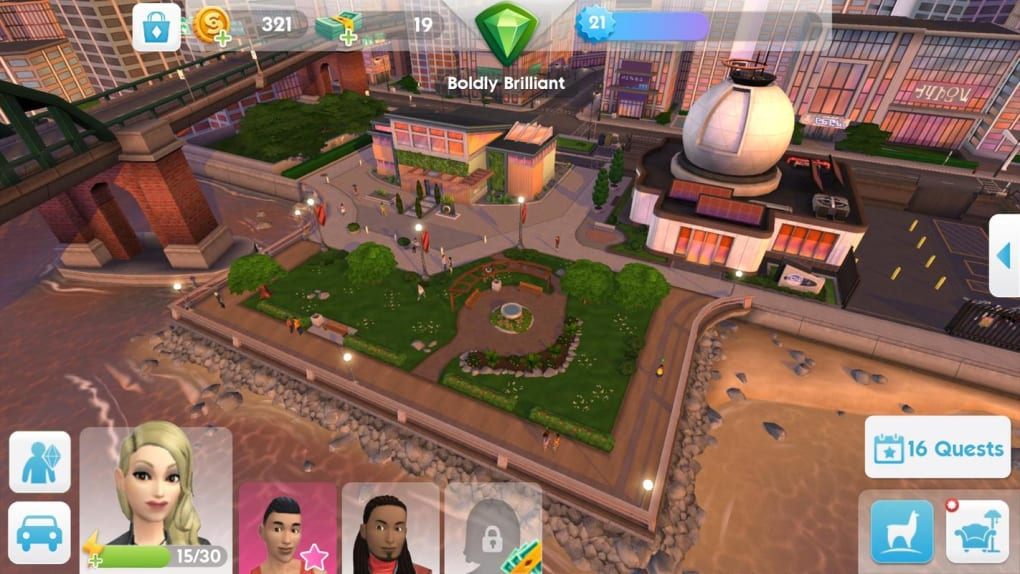 free download the sims 3 for android