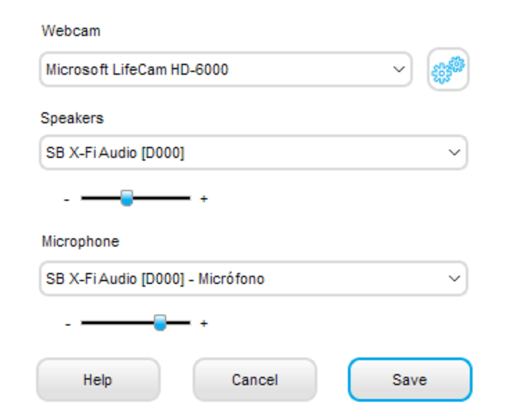 Navigating the Webcam Software