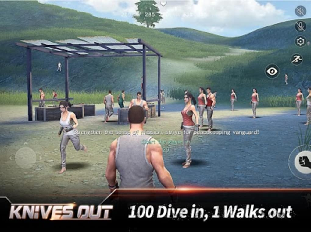 Knives Out-6x6km Battle Royale for Android - Download