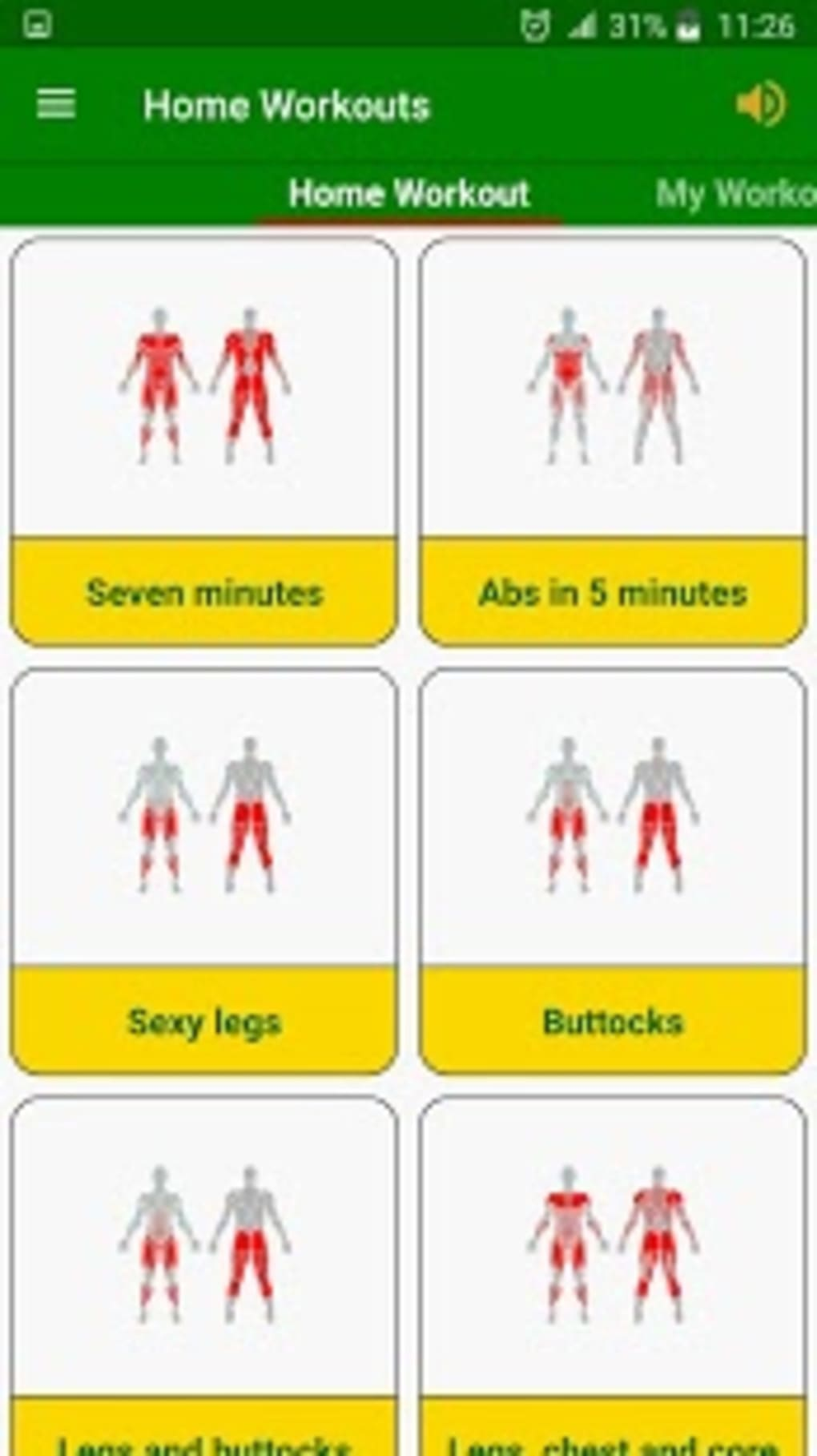 Gym Home workouts no equipment for Android - Download