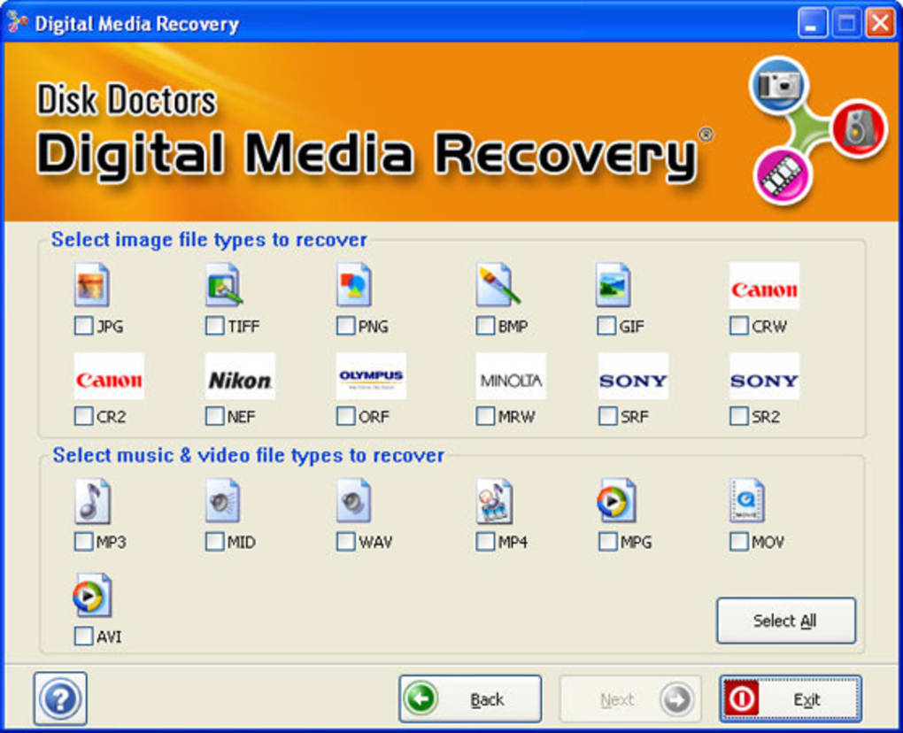 Disk Doctor Digital Media Recovery - Free   -