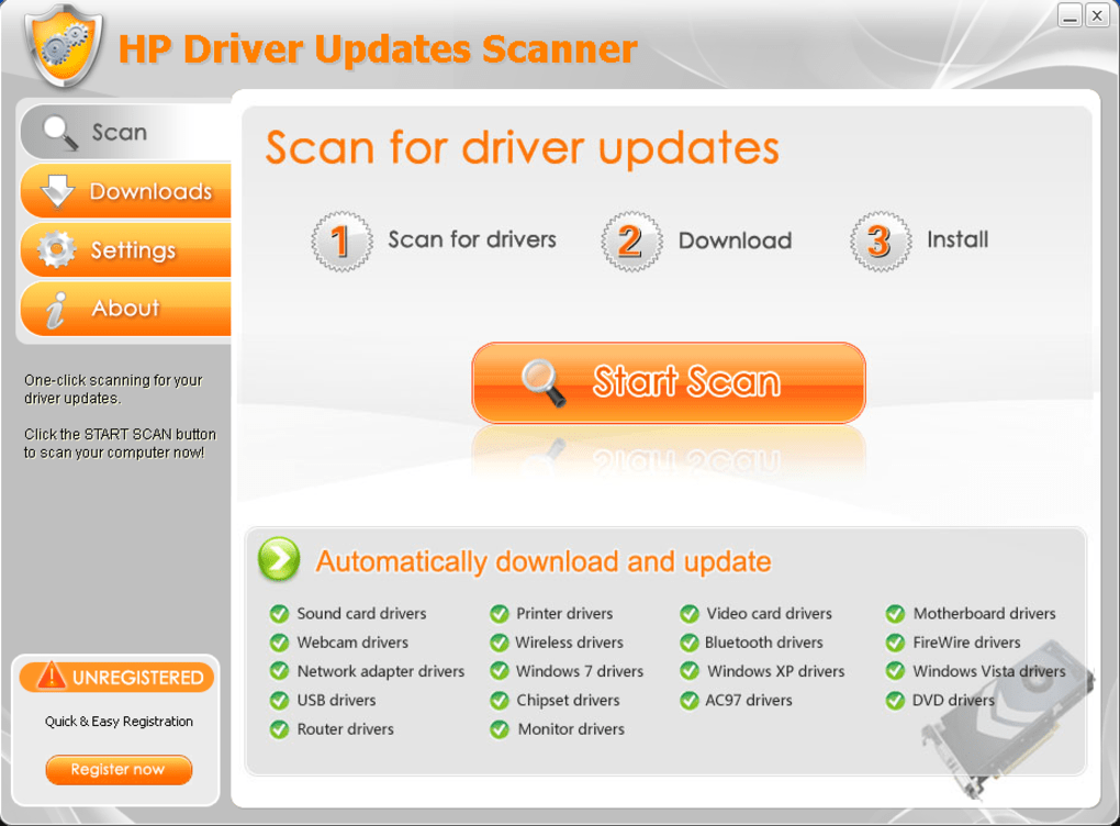 HP Driver Updates Scanner - Download