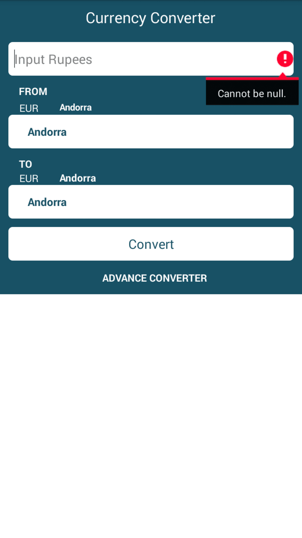 Currency Exchange Rate Calculator And Rates List For Your Android Device