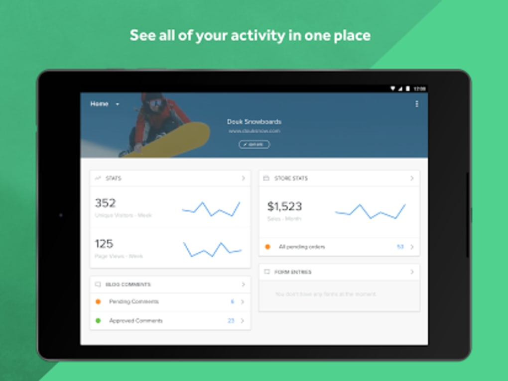 Weebly - Create a Free Website for Android - Download