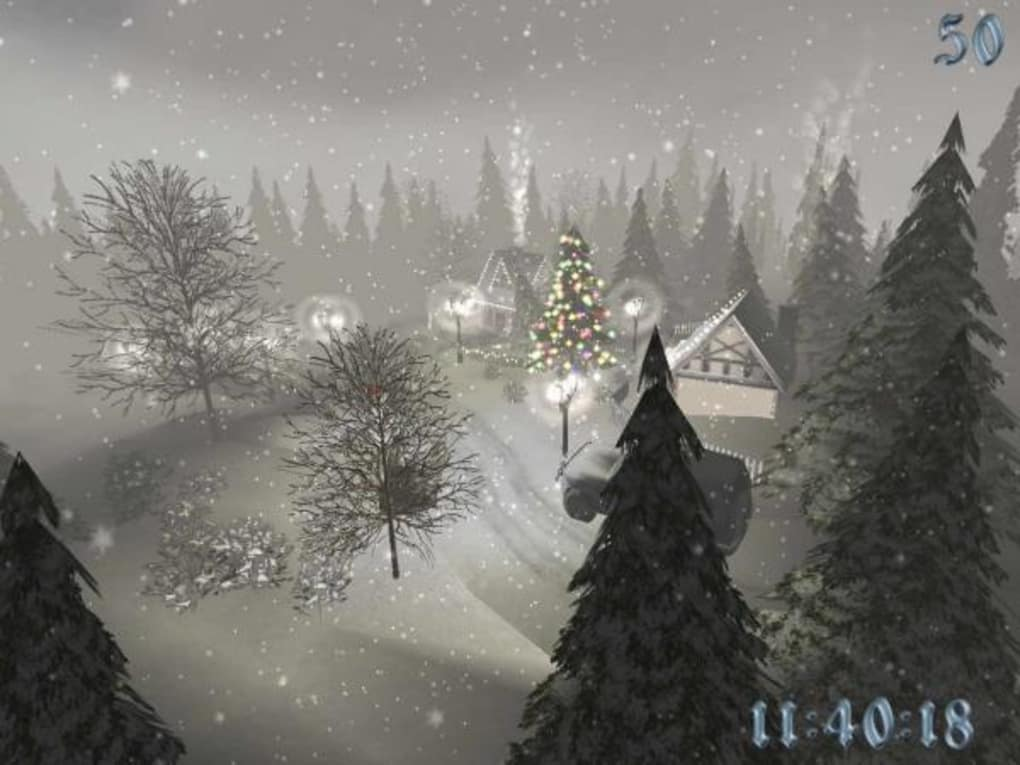 Christmas Time 3D Screensaver - Download