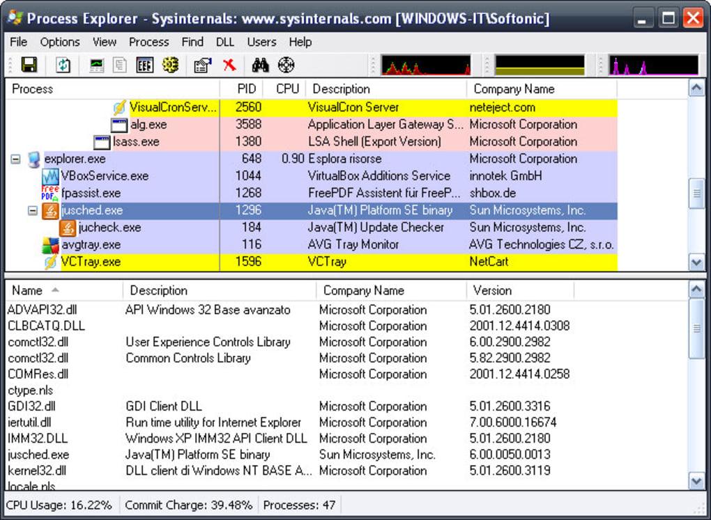 Process Explorer - Download