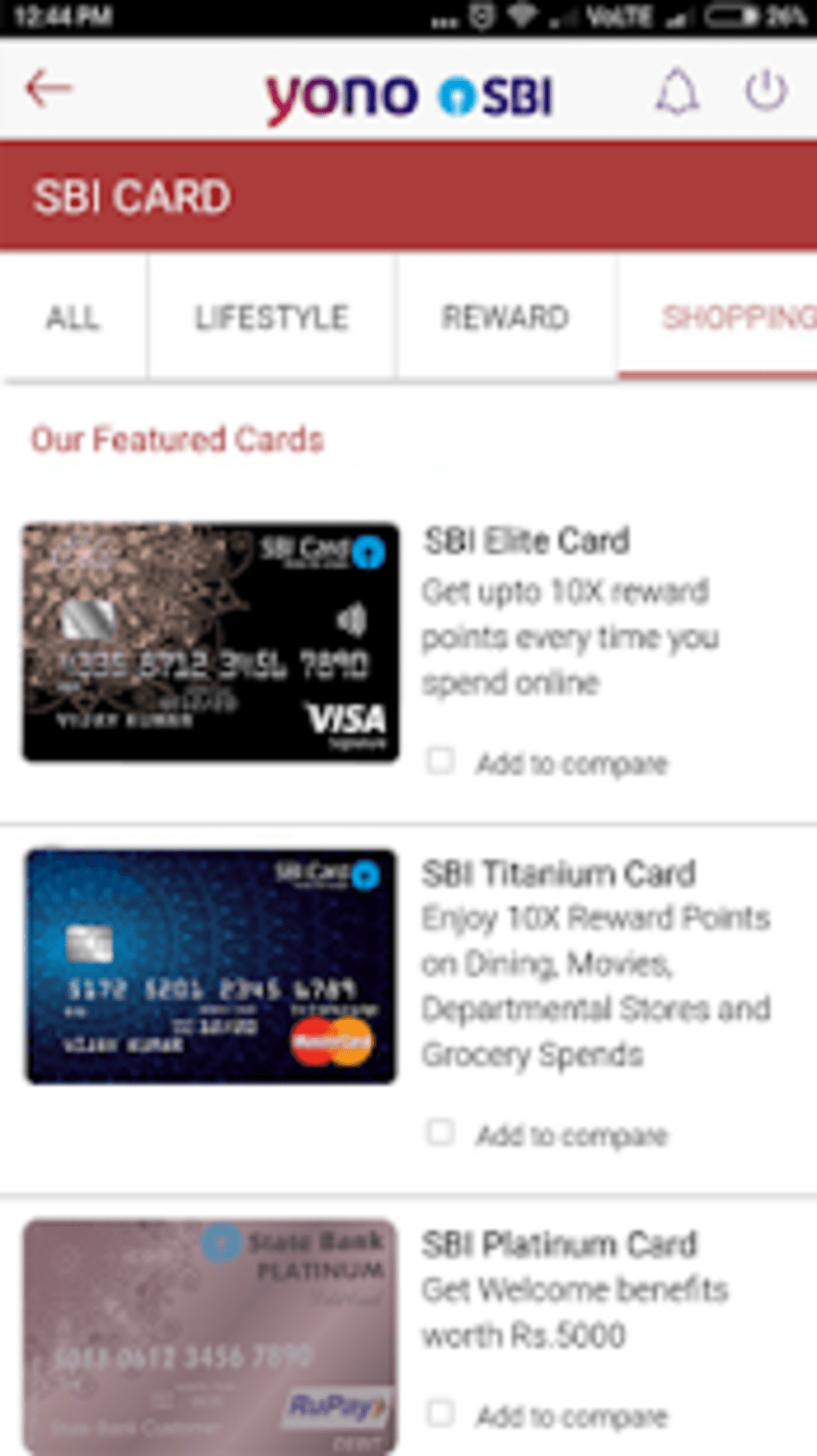 sbi net banking app for ios