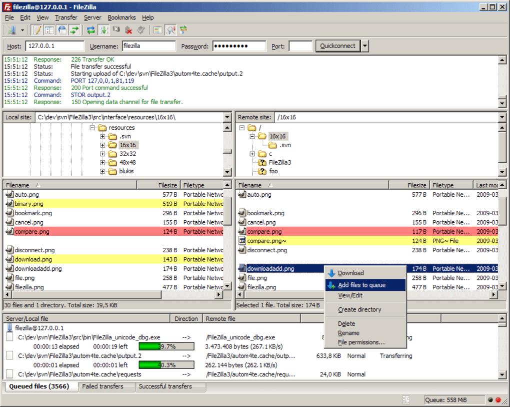 Filezilla Portable Windows