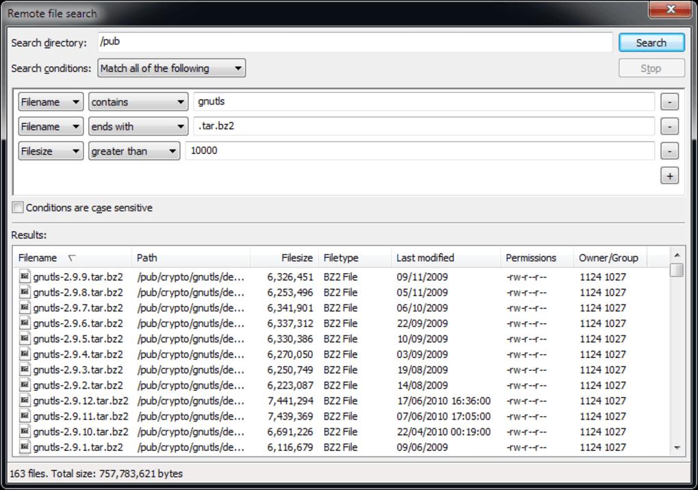Filezilla server portable