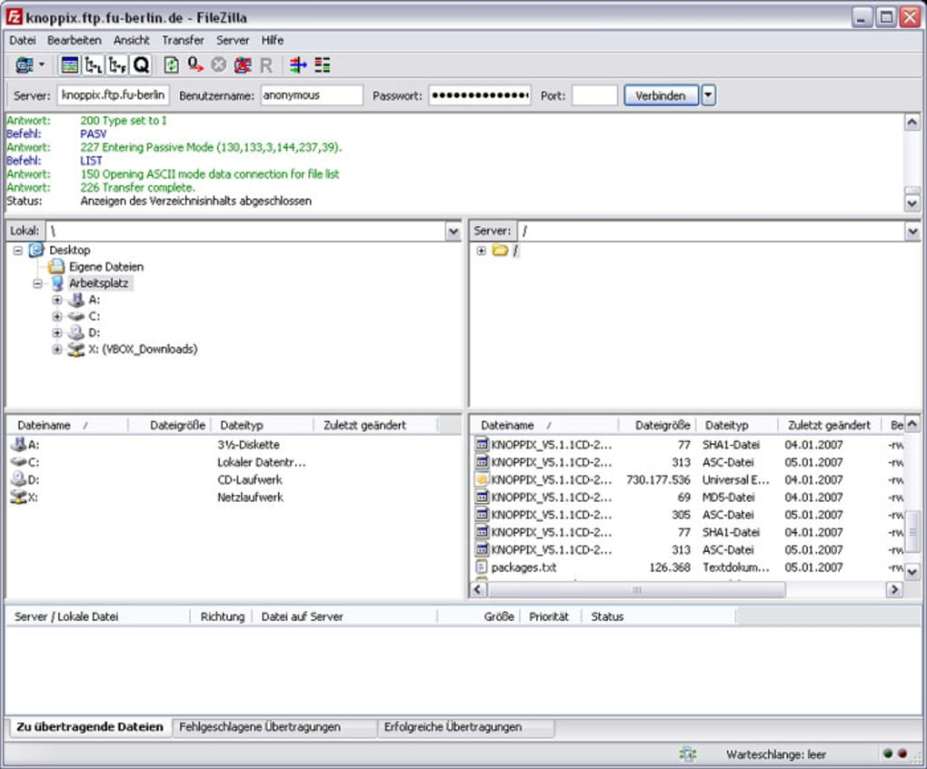 FileZilla Portable - Download