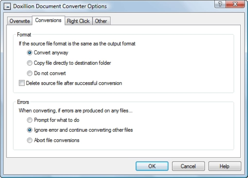 Doxillion Plus Document Converter