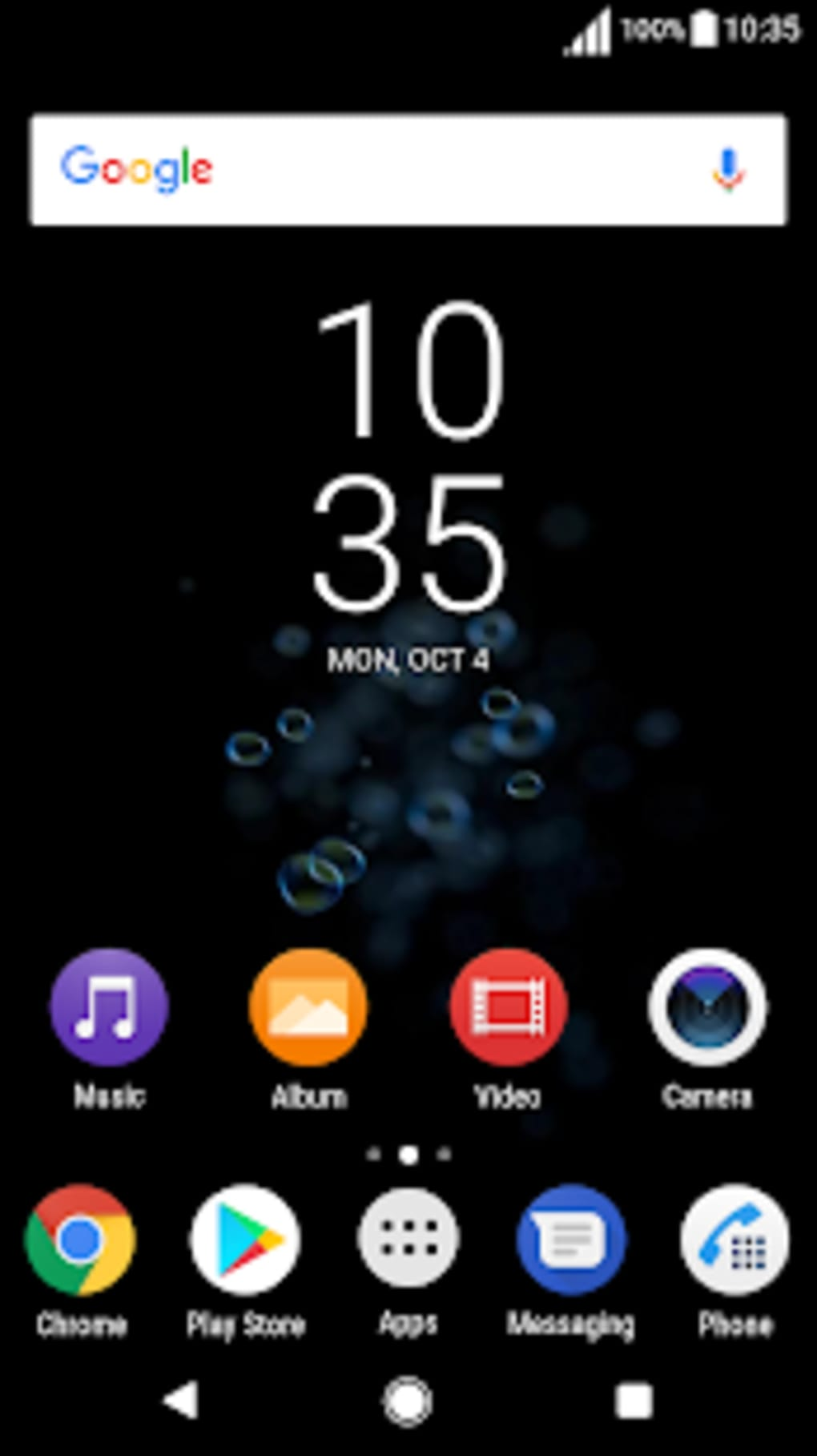 Black Theme Xz3 Live Wallpaper For Android Download