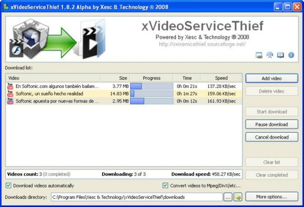 free download xvideoservicethief youtube video downloader