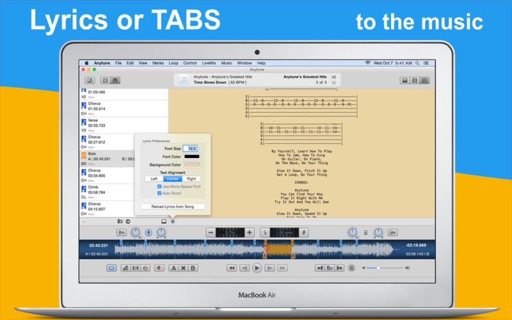 Anytune: Practice Perfected for Mac - Download