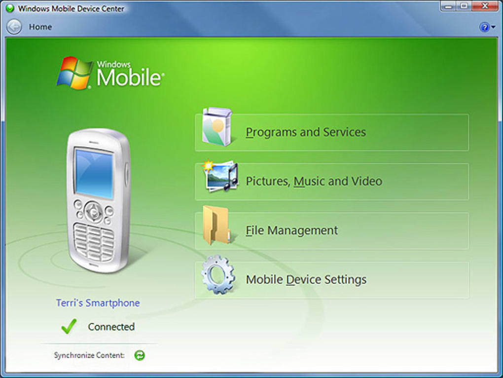 windows mobile device centre 6.1 free download