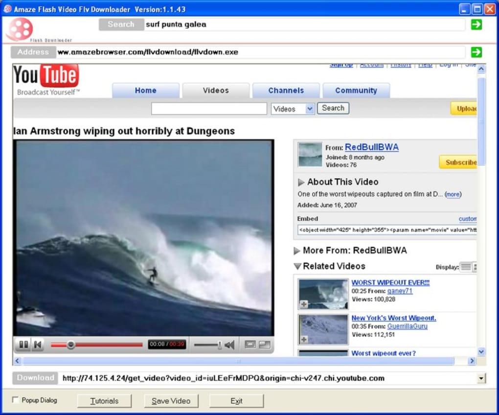 Amaze flv downloader download pros ccuart Images