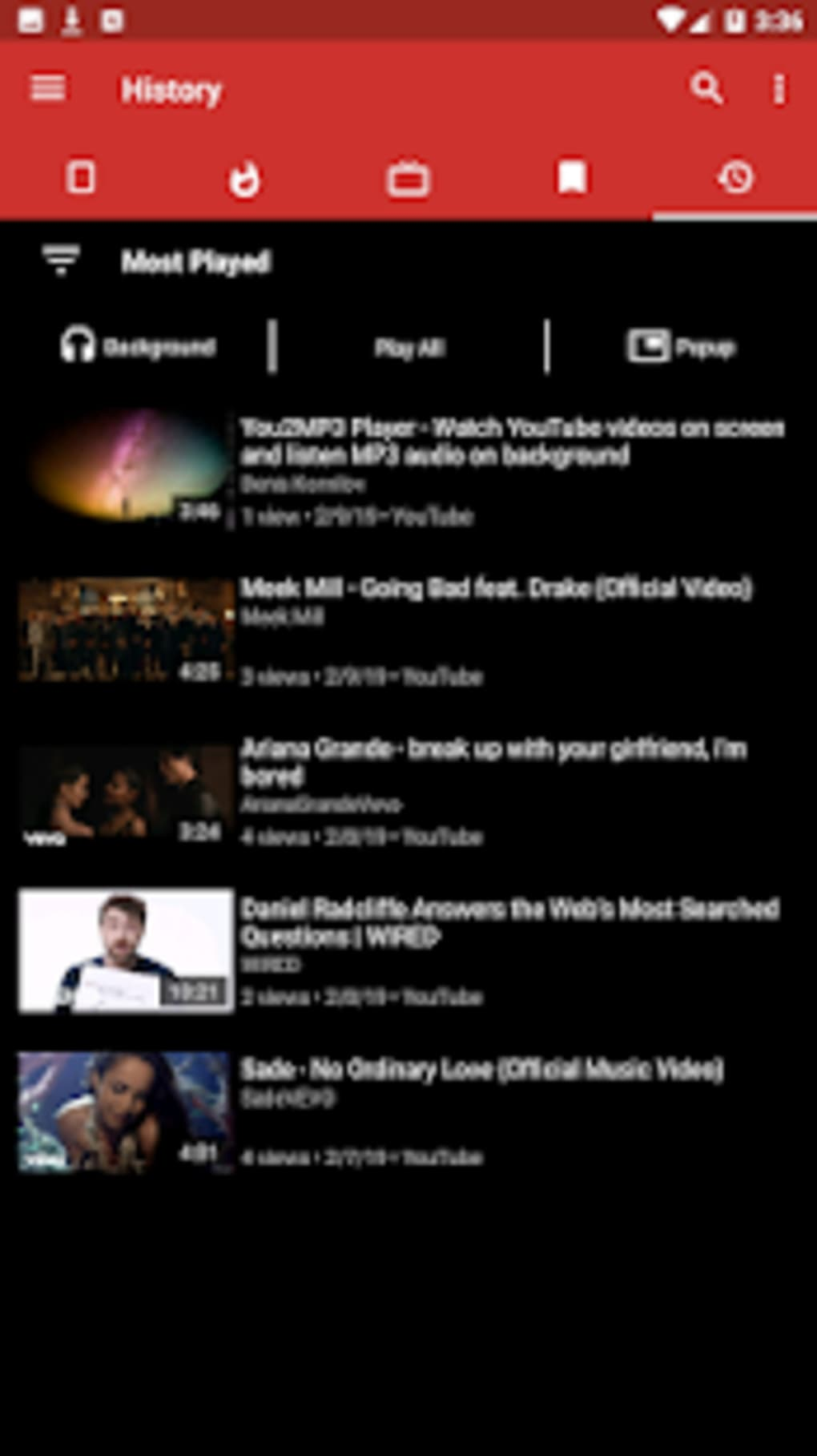 You2MP3 - YouTube to MP3 background music player for Android - Download