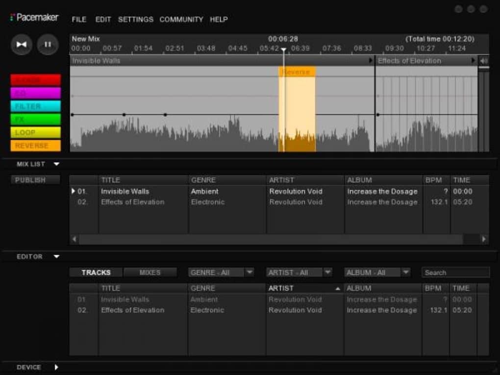 software para mezclar musica mac
