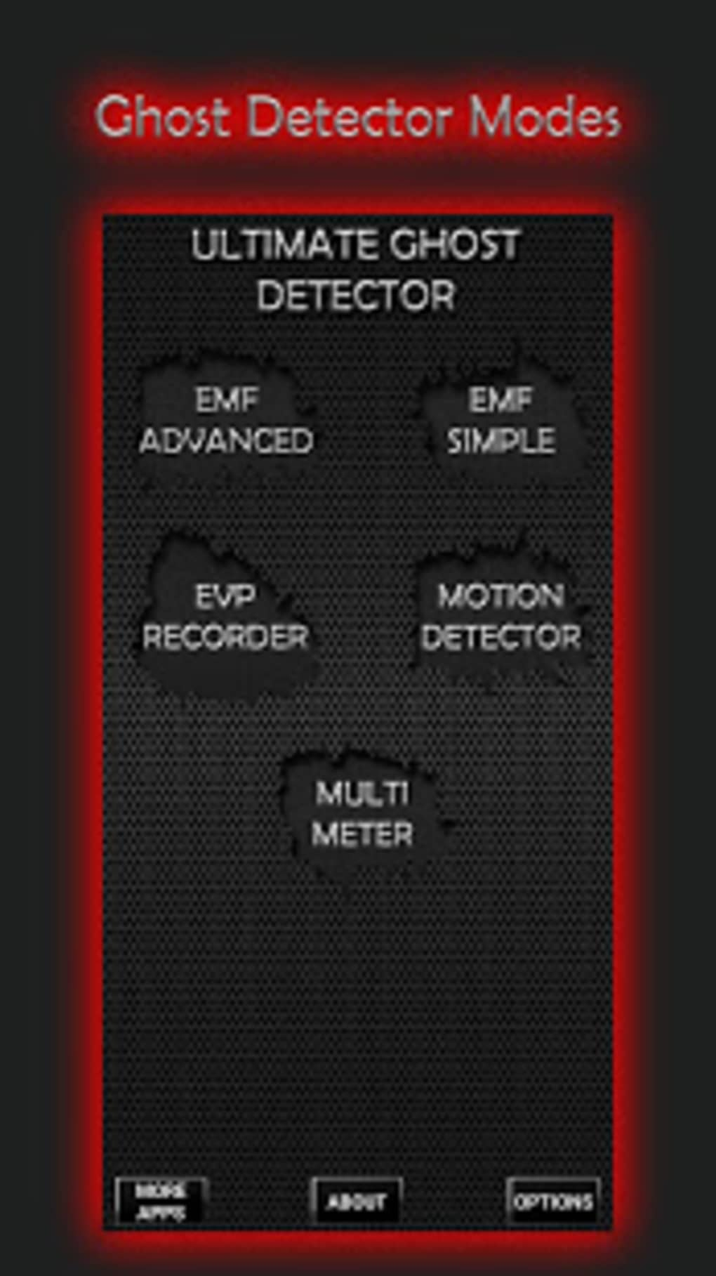 Ultimate Ghost Detector EMF EVP recorder for Android - Download