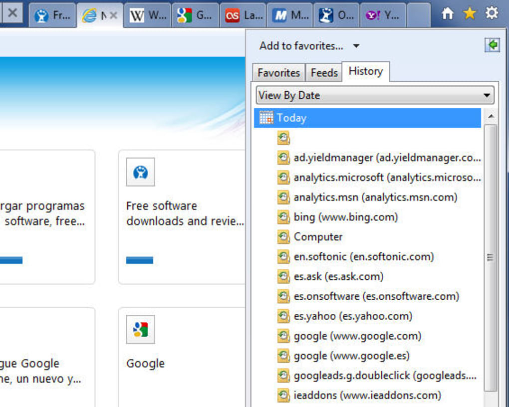 descargar internet explorer 9 para windows 7 de 32 bits