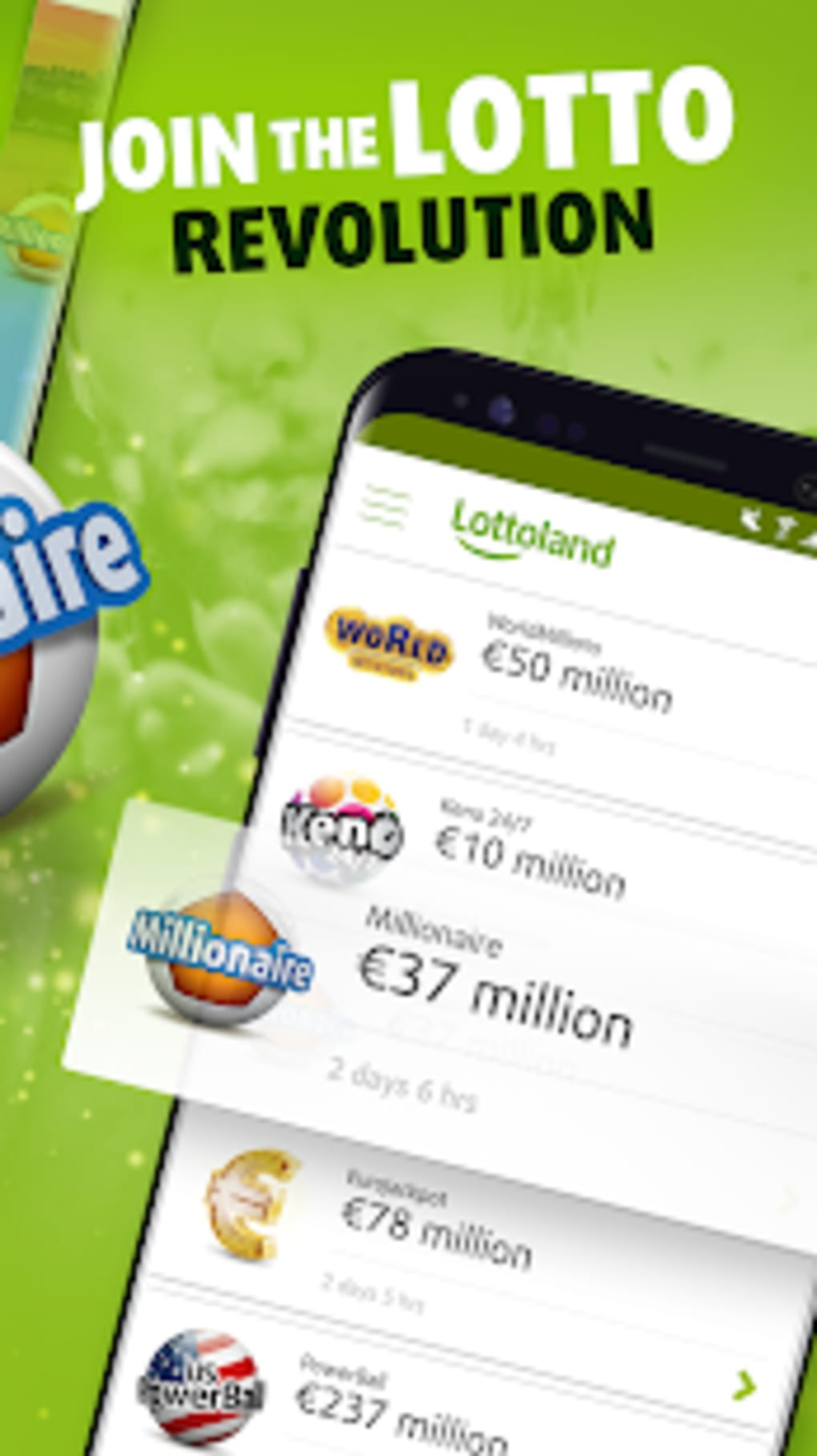 Lottoland: Bet on Lottery Results for Android - Download