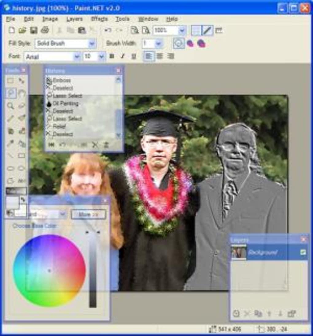 Paint. Net download.