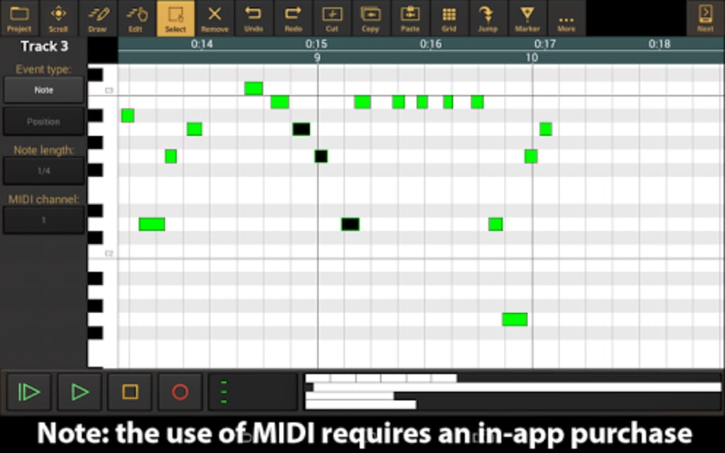 Audio Evolution Mobile Studio for Android - Download