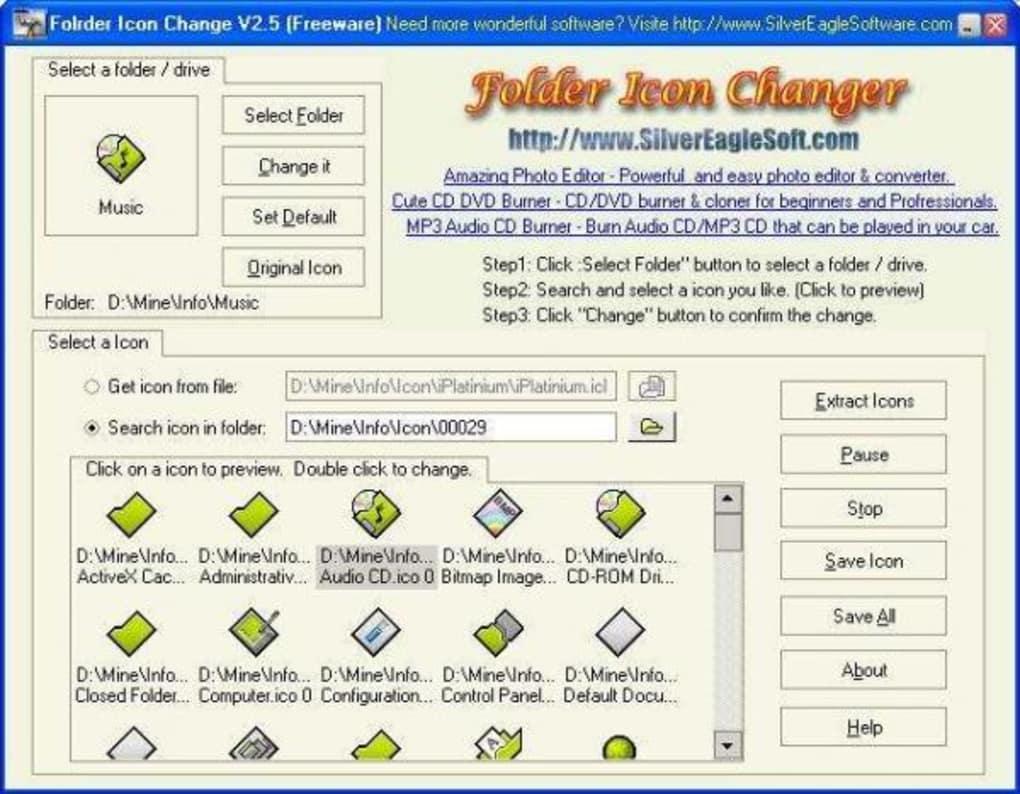 Folder Icon Changer - Download